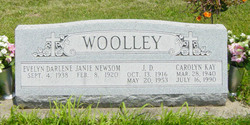 J D Woolley