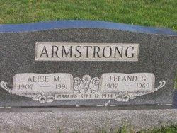 Alice McCulloch <I>Harvey</I> Armstrong