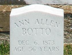 Ann <I>Allen</I> Botto