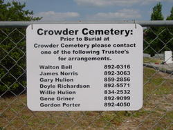 Crowder Cemetery