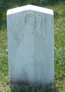 Pvt Henry W. Crone