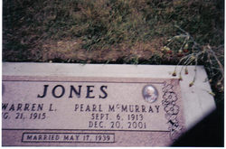 Pearl <I>McMurray</I> Jones