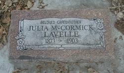 Julia <I>McCormick</I> Lavelle