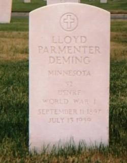 Lloyd Parmenter Deming