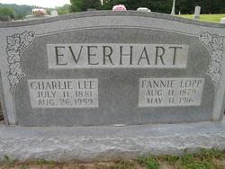Fannie <I>Lopp</I> Everhart