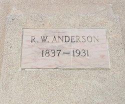 Sgt Randolph Washington Anderson