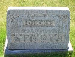 Bertha Louise <I>Schmutz</I> Barlocher