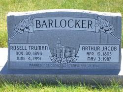"""Rosell Truman """"Rose"""" Barlocker"""
