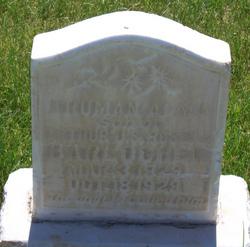 Truman Alma Barlocker