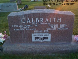 Florence <I>Redd</I> Galbraith
