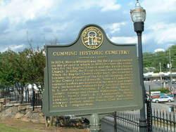 Cumming City Cemetery