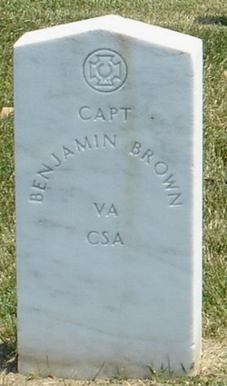 Capt Benjamin Brown