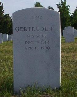 Gertrude F Fetty