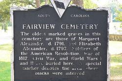 Fairview Presbyterian Church Cemetery