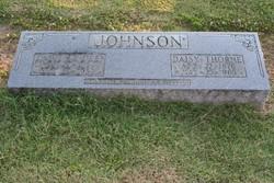 Daisy Alabama <I>Thorne</I> Johnson