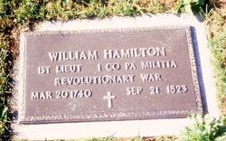 Lieut William Hamilton