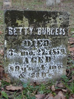 Betty <I>Hendricks</I> Burgess