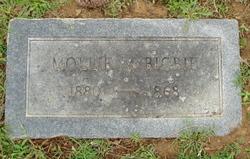 """Martha Mary """"Mollie"""" <I>Woods</I> Bigbie"""