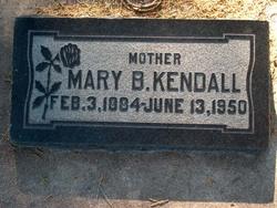 Mary Jane <I>Burningham</I> Kendall