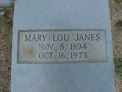 Mary Lou <I>Johnson</I> Janes
