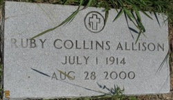 Ruby <I>Collins</I> Allison