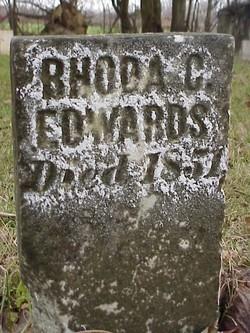 Rhoda C. <I>Mendenhall</I> Edwards