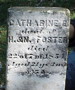 Catharine E. Foster