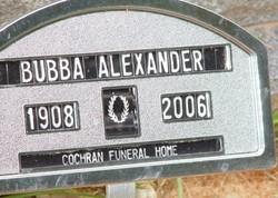 "A. B. ""Bubba"" Alexander"