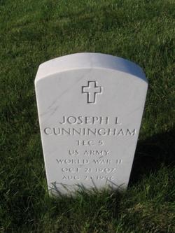 Joseph L Cunningham