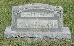 """Mary Lenora """"Nora"""" <I>Dotson</I> Leatherwood"""