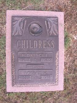 Florence Elizabeth <I>Webster</I> Childress
