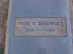 Frank O. Bloodworth