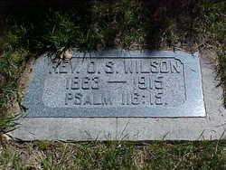 Rev Oscar S Wilson