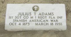 Julius T Adams