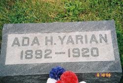 Ada Hettie <I>Grogg</I> Yarian