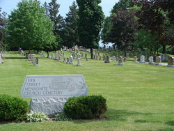 Erb Street Mennonite Church Cemetery