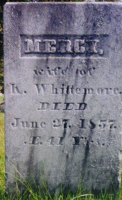"""Mary """"Mercy"""" <I>Leach</I> Whittemore"""