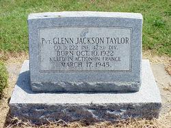 Pvt Glenn Jackson Taylor