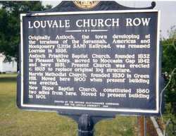 Louvale Baptist Church Cemetery