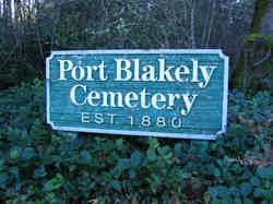 Port Blakely Cemetery