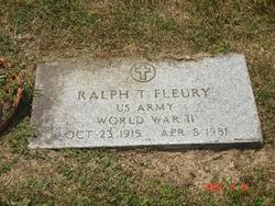 Ralph T. Fleury