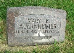 Mary Edith <I>Ewert</I> Auernheimer