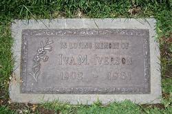 Iva Mae <I>Boyd</I> Iverson