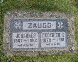 Frederick G Zaugg