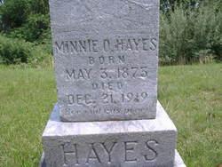 Minnie O <I>Cooley</I> Hayes