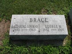 Aurelia Katharine <I>Lowman</I> Brace