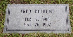 Fred D Bethune