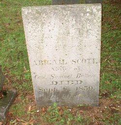 Abigail <I>Scott</I> Bullard