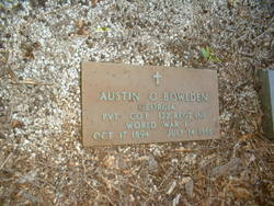 Pvt Austin O Bowlden