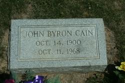 John Byron Cain